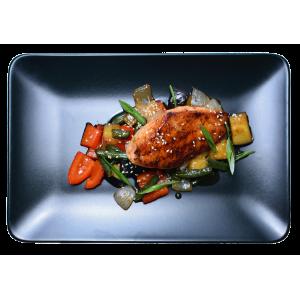 Филе куриное с овощами по-тайски
